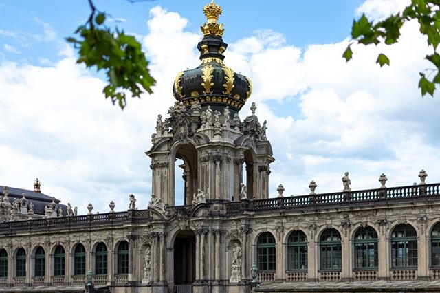 Photo by Tobias Meister in Dresdner Zwinger. Image may contain: sky, cloud and outdoor